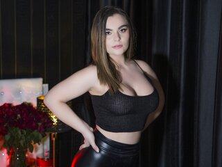MeganRiverlin shows naked jasmine